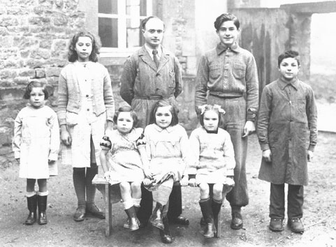 Photo école Williers 1959, instituteur RAYMOND
